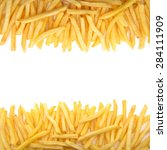 french fries | Shutterstock . vector #284111909