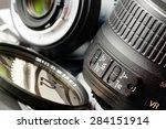 Small photo of Camera lens details.