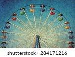 vintage grunge background with...   Shutterstock . vector #284171216