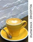 cappuccino | Shutterstock . vector #284209706