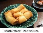 spring roll | Shutterstock . vector #284220326