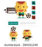 character design football