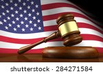 usa law and justice of the... | Shutterstock . vector #284271584