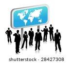 business people | Shutterstock .eps vector #28427308