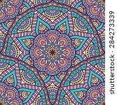 seamless pattern. vintage... | Shutterstock .eps vector #284273339