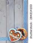 original bavarian salted soft...   Shutterstock . vector #284314103