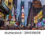 new york city  usa   31st... | Shutterstock . vector #284338658