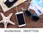 preparing for travel... | Shutterstock . vector #284377226