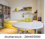 teenage boy room | Shutterstock . vector #284405000