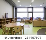 interior of day nursery  ... | Shutterstock . vector #284407979
