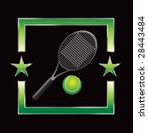 all star tennis racket | Shutterstock .eps vector #28443484