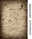 vector texture of the old brown ... | Shutterstock .eps vector #284443988