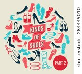 kinds of shoes part 2 set of