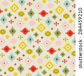 tribal pattern | Shutterstock .eps vector #284459210