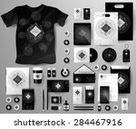 abstract  business set in art... | Shutterstock .eps vector #284467916