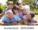 Multi Generation Family Piled...