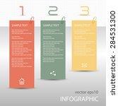 infographs   tag labels   memo... | Shutterstock .eps vector #284531300