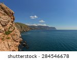 Rocky Coast Of The Crimea On A...
