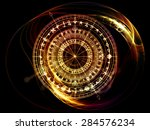 orbits of destiny series.... | Shutterstock . vector #284576234