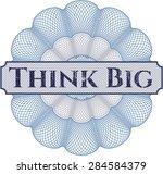 think big rosette   Shutterstock .eps vector #284584379