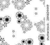 seamless wallpaper pattern with ... | Shutterstock .eps vector #284604449