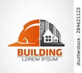 building logo architecture... | Shutterstock .eps vector #284621123