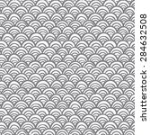 wave pattern vector design | Shutterstock .eps vector #284632508