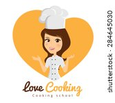 love cooking  girl character