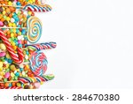 colorful candy | Shutterstock . vector #284670380