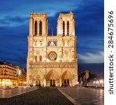 Notre Dame In Paris  France