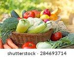 organic food   healthy food | Shutterstock . vector #284693714