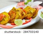 paneer tikka | Shutterstock . vector #284703140