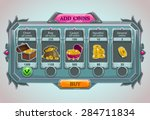 add coins panel  vector epic...