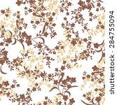 flower pattern | Shutterstock .eps vector #284755094
