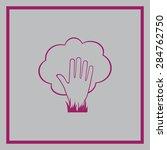 ecology vector icon  | Shutterstock .eps vector #284762750