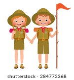 vector illustration of children ... | Shutterstock .eps vector #284772368
