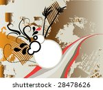floral background for text | Shutterstock .eps vector #28478626