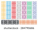 design elements and page... | Shutterstock .eps vector #284790686