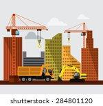 vector illustration of... | Shutterstock .eps vector #284801120