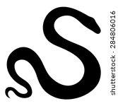 vector stylized snake... | Shutterstock .eps vector #284806016