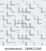 vector abstract geometric shape ... | Shutterstock .eps vector #284811260