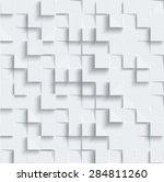 vector abstract geometric shape ... | Shutterstock .eps vector #284811260