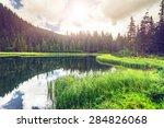 Summer Mountain Lake Marichejk...