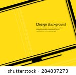 abstract smart tv symbol... | Shutterstock .eps vector #284837273