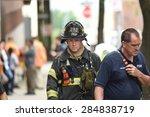 new york city   june 6 2015 ...   Shutterstock . vector #284838719