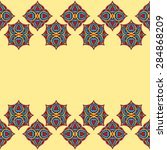 vintage decorative elements....   Shutterstock .eps vector #284868209