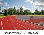 running tracks on the athletics ...