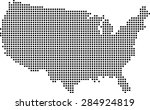 map of usa | Shutterstock .eps vector #284924819