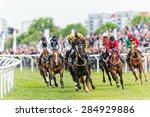 stockholm   june 6  action when ... | Shutterstock . vector #284929886