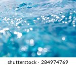 Blur View Of Water Surface For...